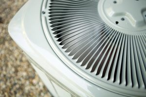 top view of an air conditioning unit