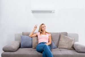 woman-with-ductless-system